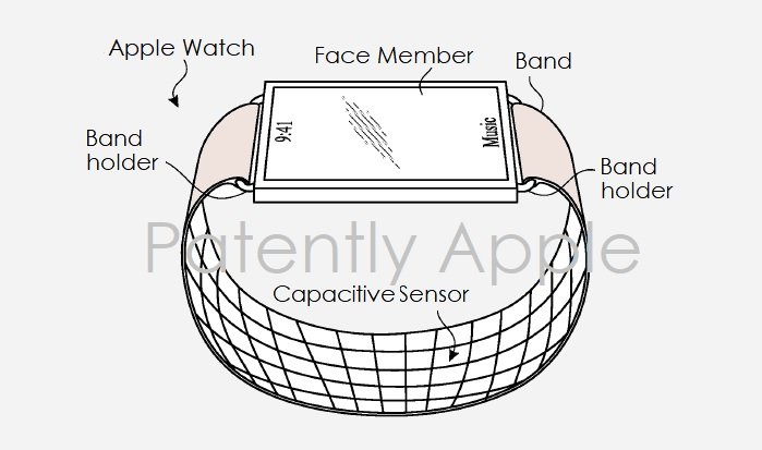 Patent sportsensoren horlogebandje