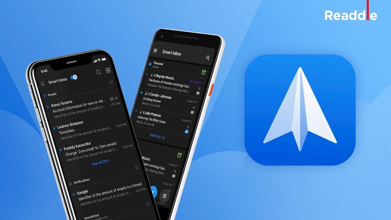Spark iOS Dark Mode