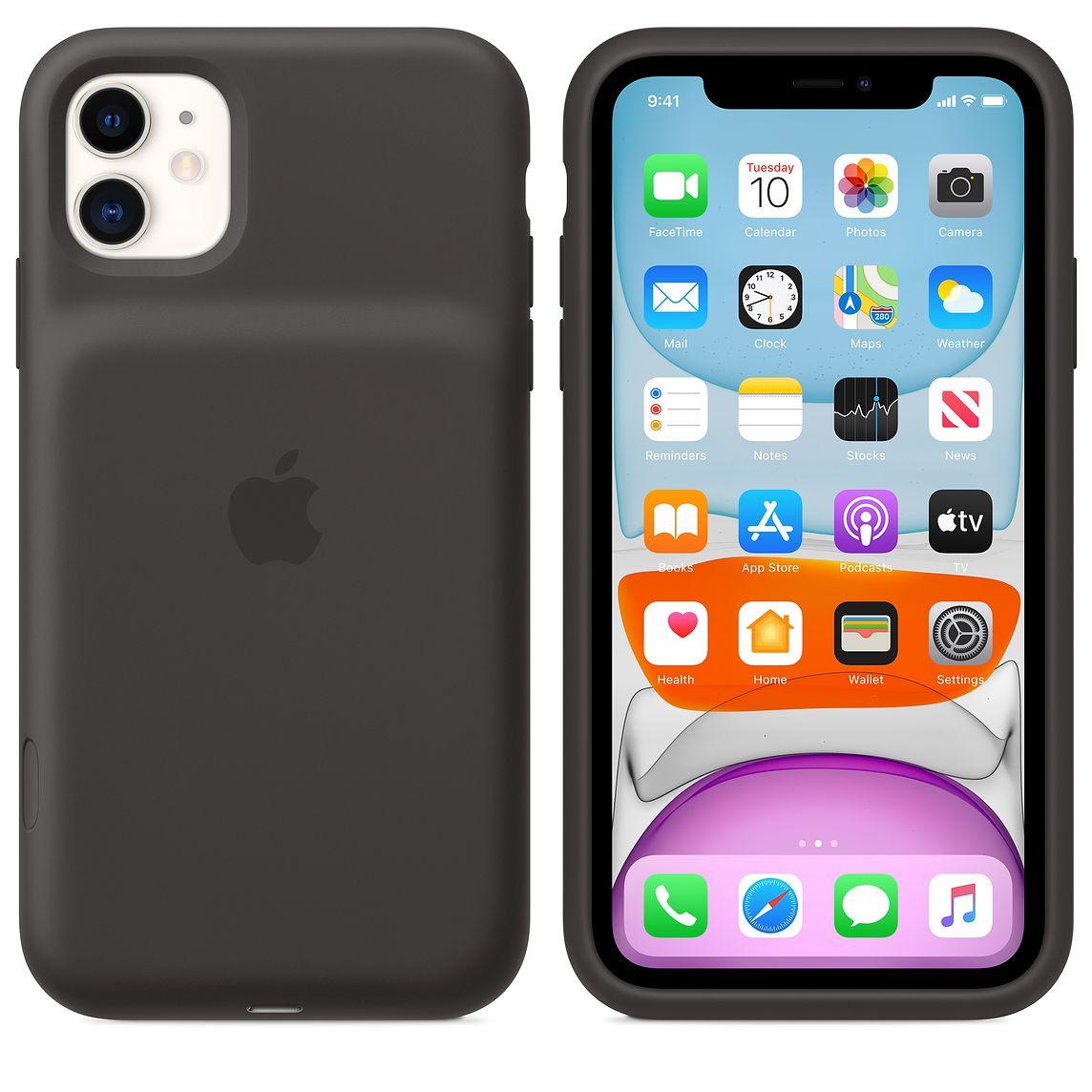 Smart Battery Cases voor iPhone 11  zwart