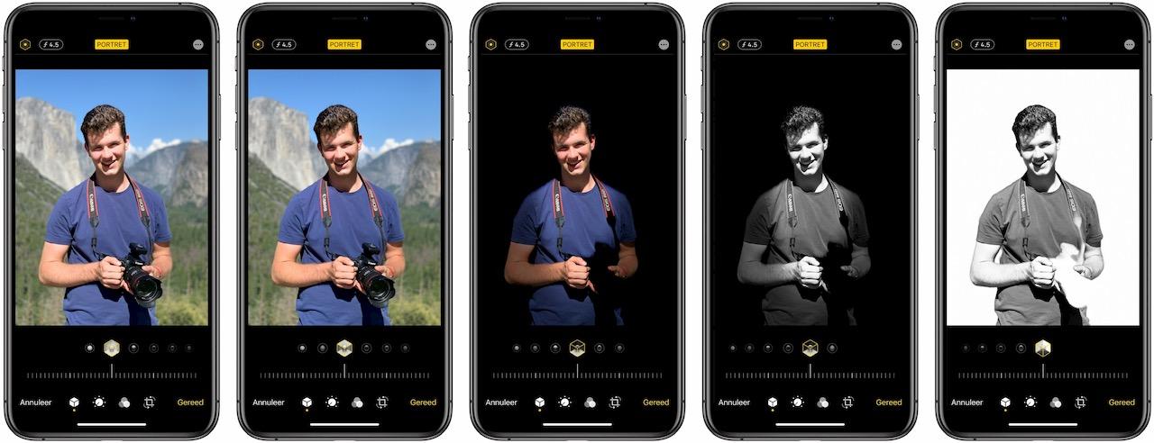 Portretbelichting in Yosemite