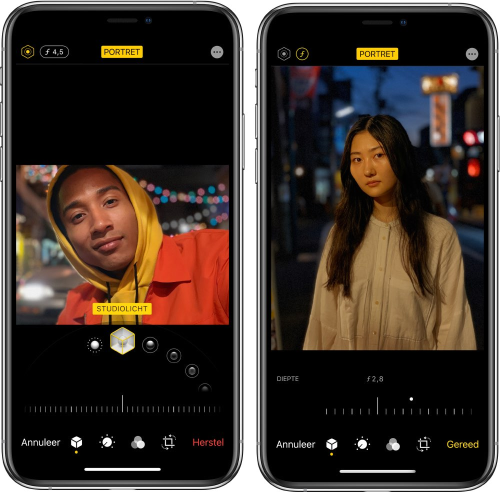 Portretten maken iPhone