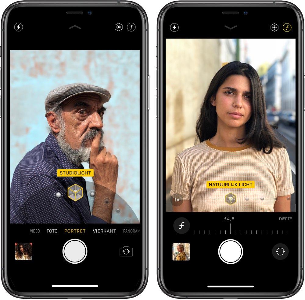 Portretmodus iPhone
