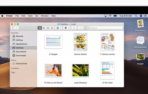 macOS Mojave Finder
