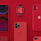 Deze rode (PRODUCT)RED-producten vind je in de Apple Store