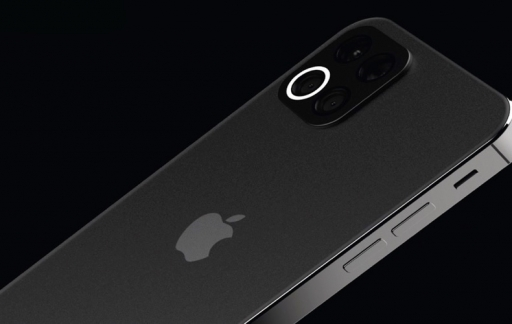 iPhone 12 concept met camera.