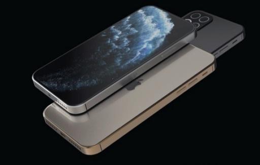 iPhone 12 concept met nieuw design.