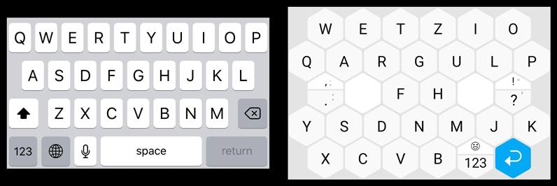 Toetsenbord iOS versus Typewise