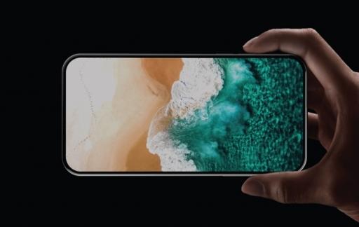 Scherm van 2020 iPhone zonder notch.
