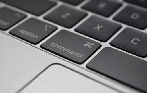 Command-toets MacBook Pro.