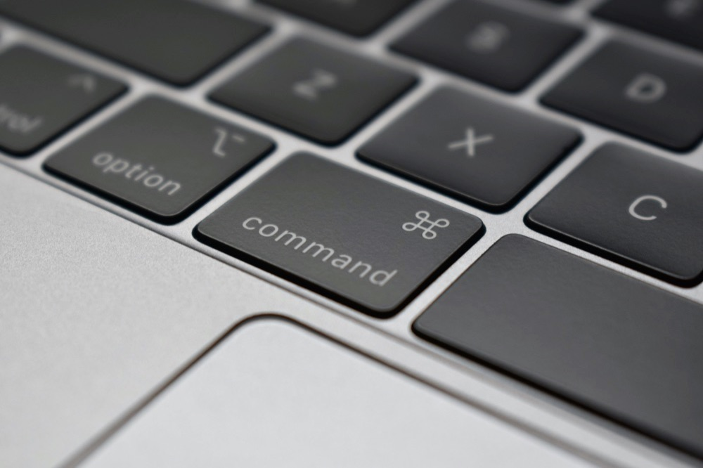 Command-toets MacBook Pro.