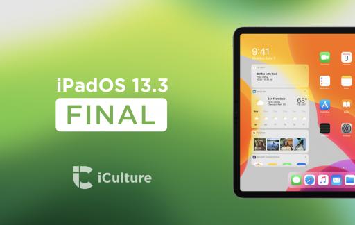 iPadOS 13.3 Final.