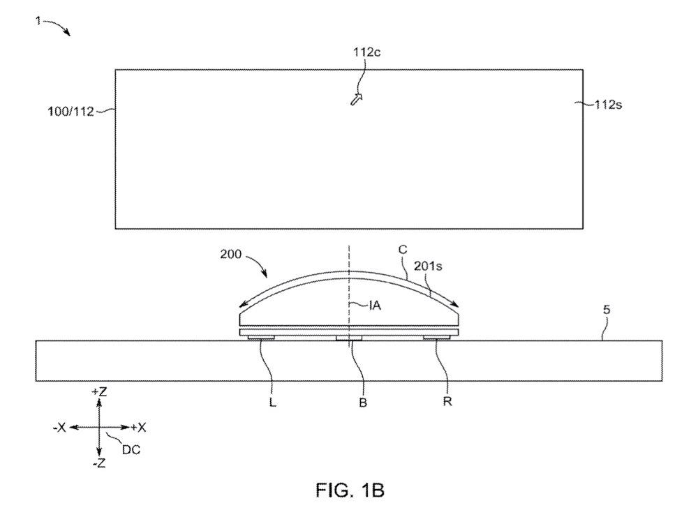 Magic Mouse Pro patent