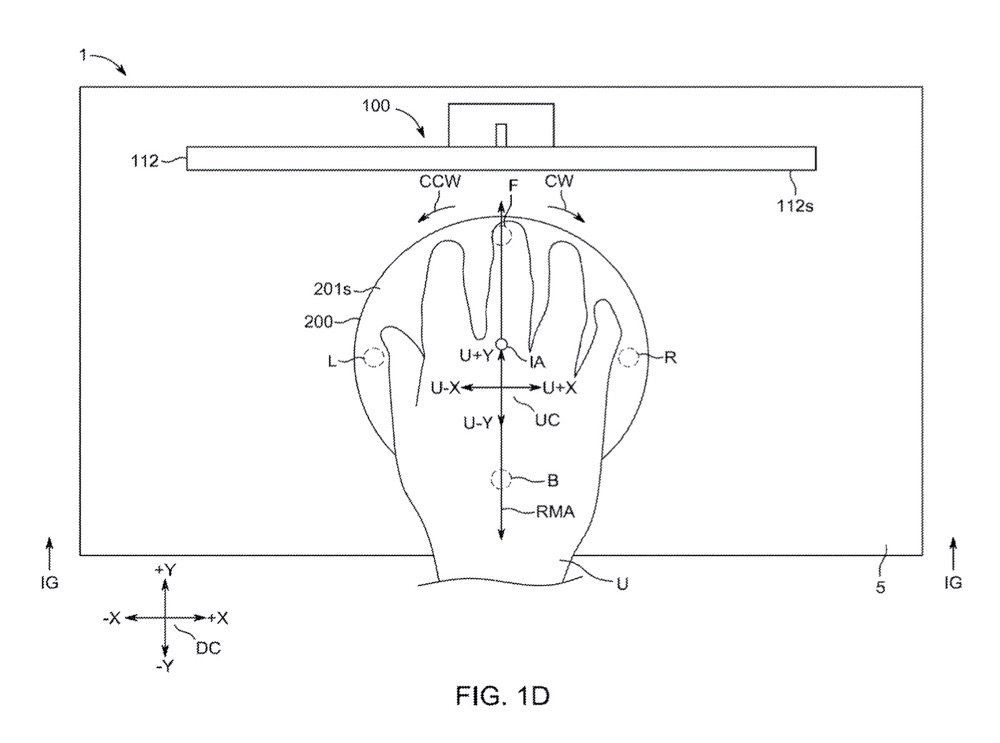 Magic Mouse Pro rond in patent.
