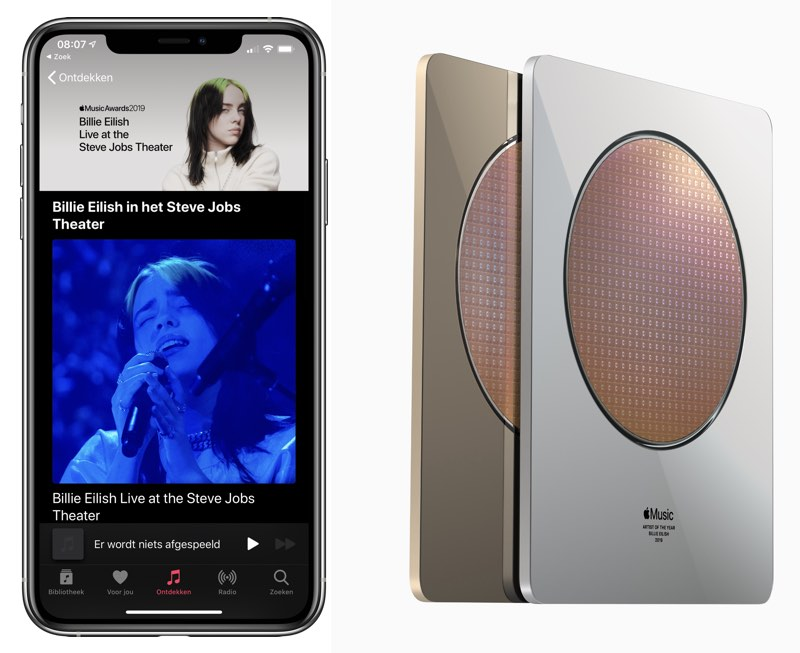 Billie Eilish op Apple Music