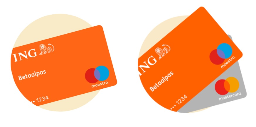 ING Apple Pay creditcard.