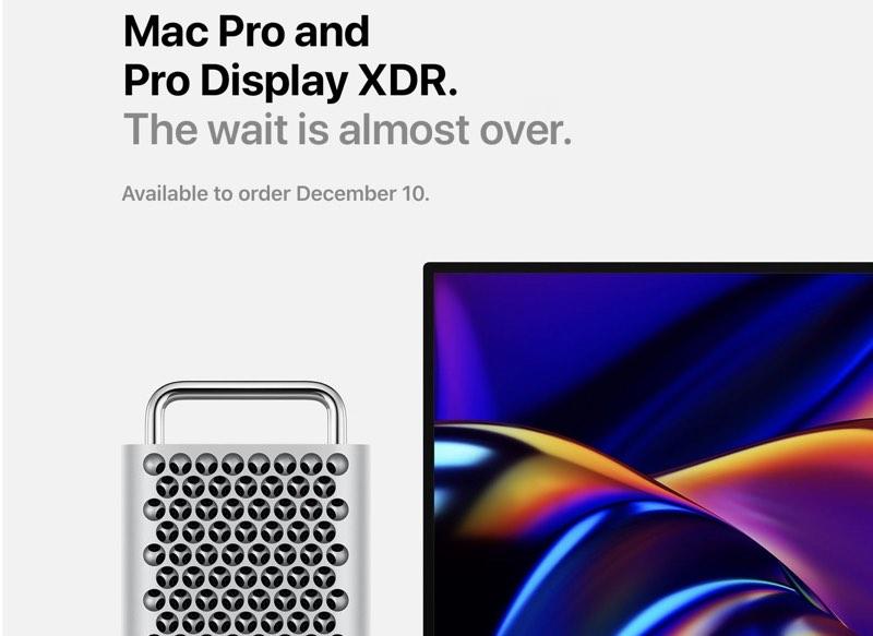 Mac Pro 10 december