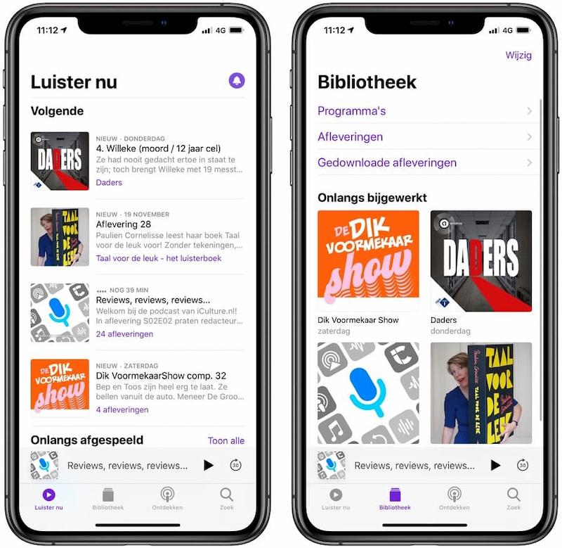 Podcasts app iOS 13