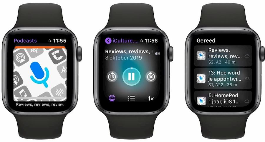 Podcasts app Apple Watch