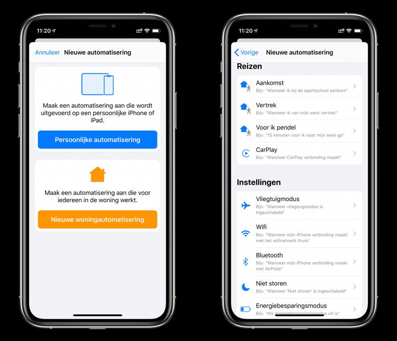 Opdrachten-app: persoonlijke automatisering voor CarPlay en Bluetooth.