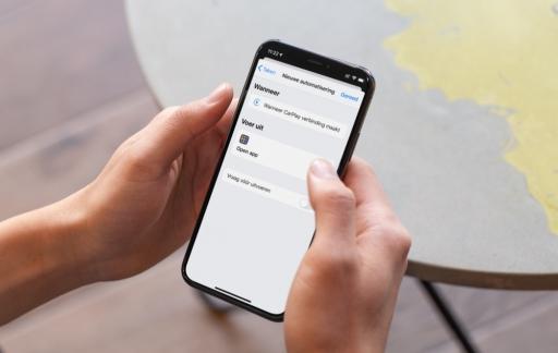 Automatisch favoriete navigatie-app openen.