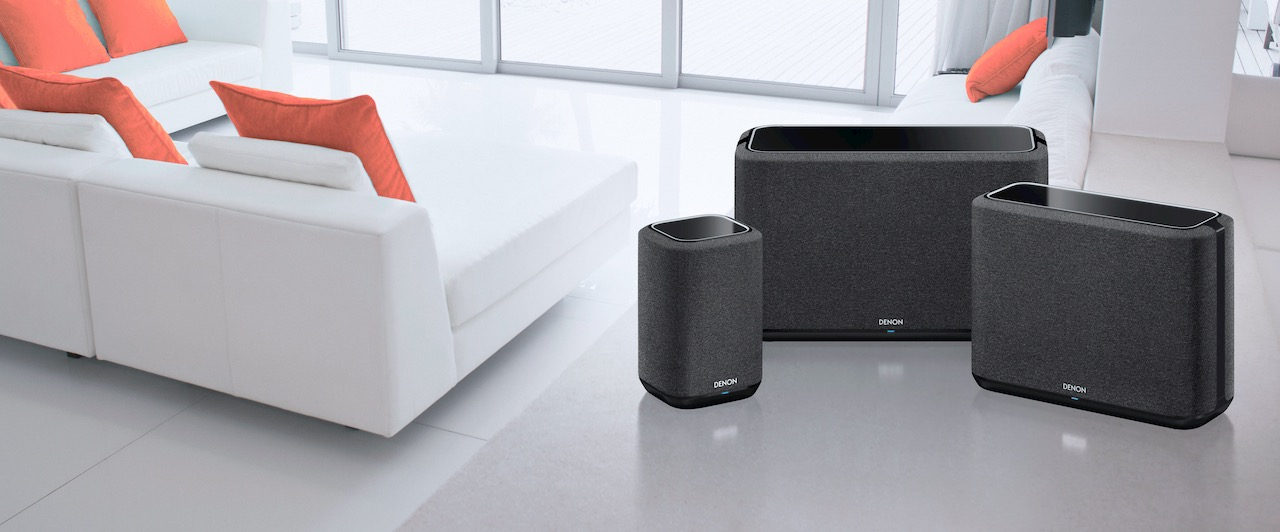 Denon Home AirPlay 2 speakers