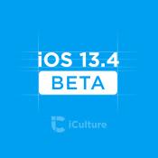 iOS 13.4 beta.