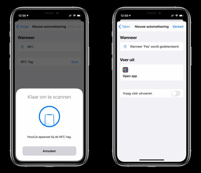 Persoonlijke automatisering met NFC.
