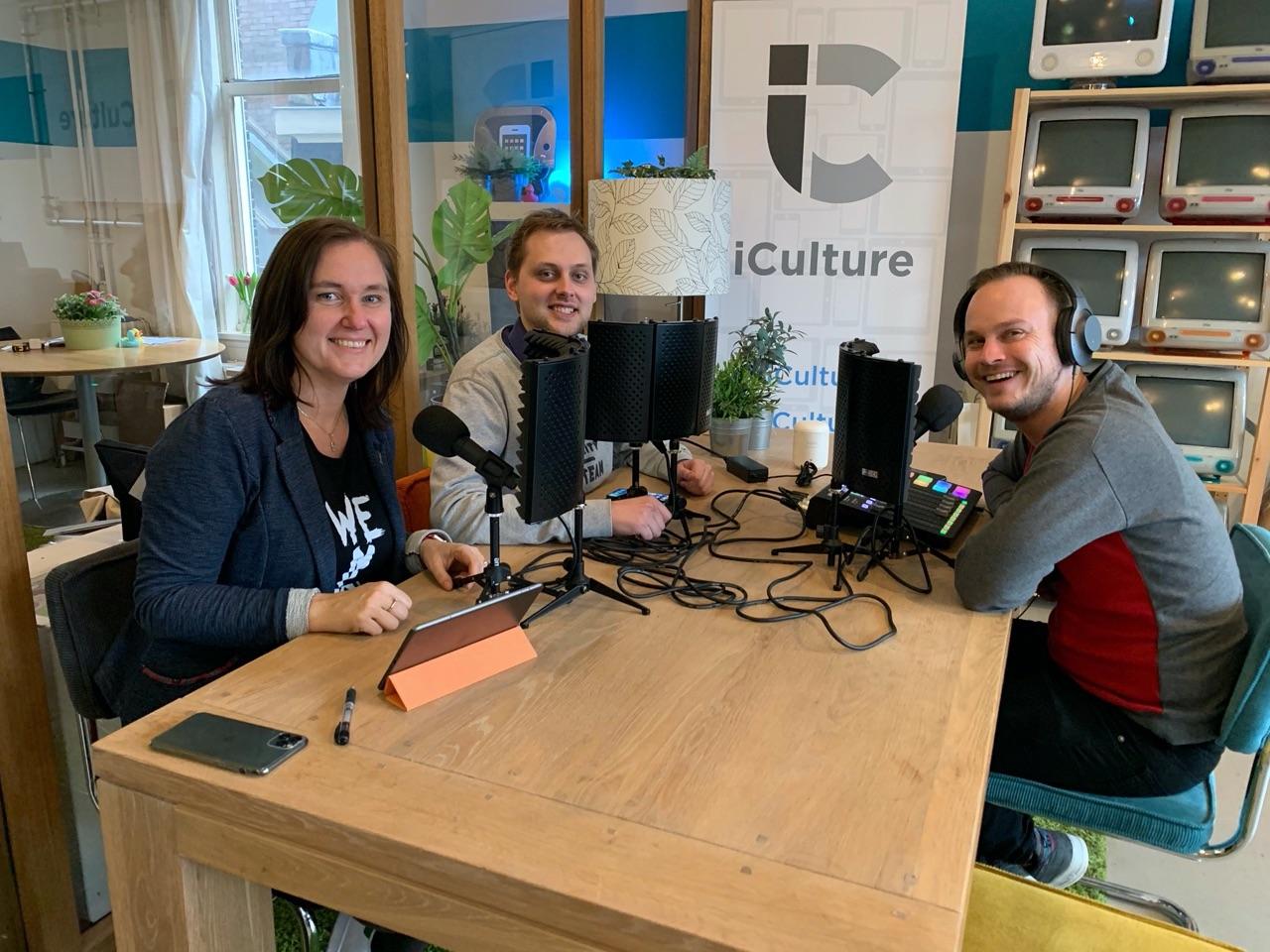 iCulture Podcast met Gonny, Benjamin en Elger 2.