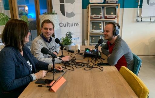iCulture Podcast met Gonny, Benjamin en Elger 3.