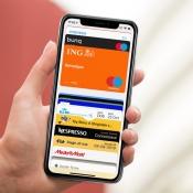 Wallet-app met Apple Pay en klantenkaarten.