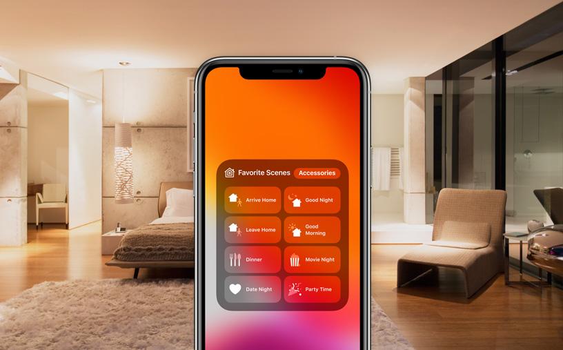 Apple's smart home van de toekomst kan zichzelf instellen