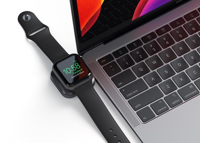 Satechi USB-C oplader Apple Watch