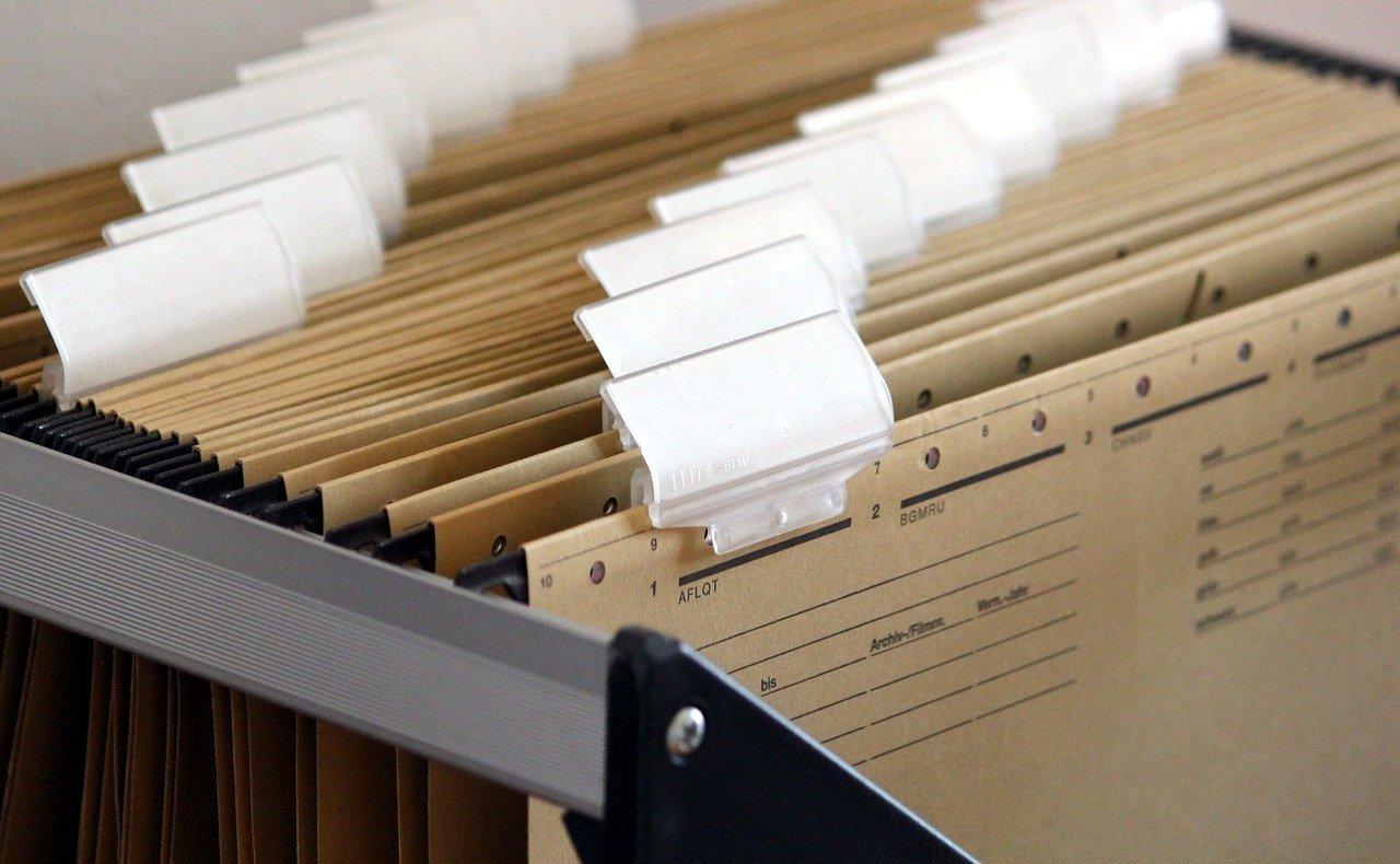 Documenten bestanden dossier