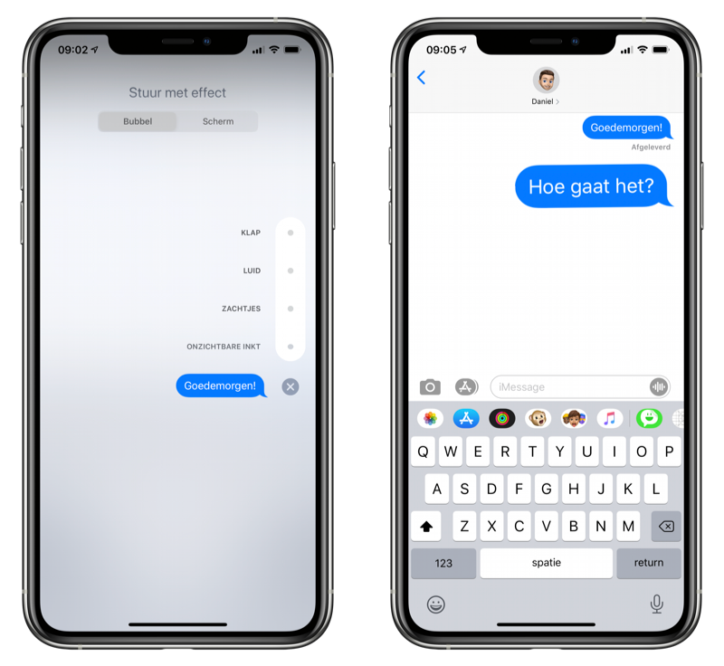 Effect iMessage