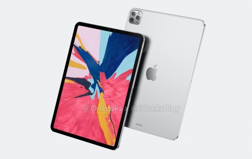iPad Pro 2020 render camera.