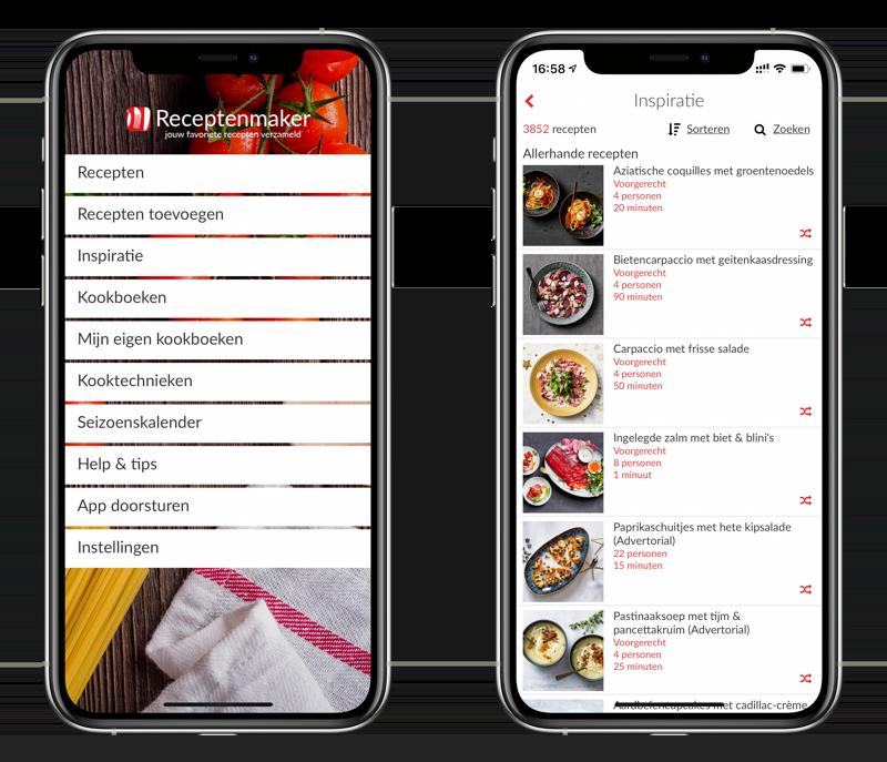 Receptenmaker-app.