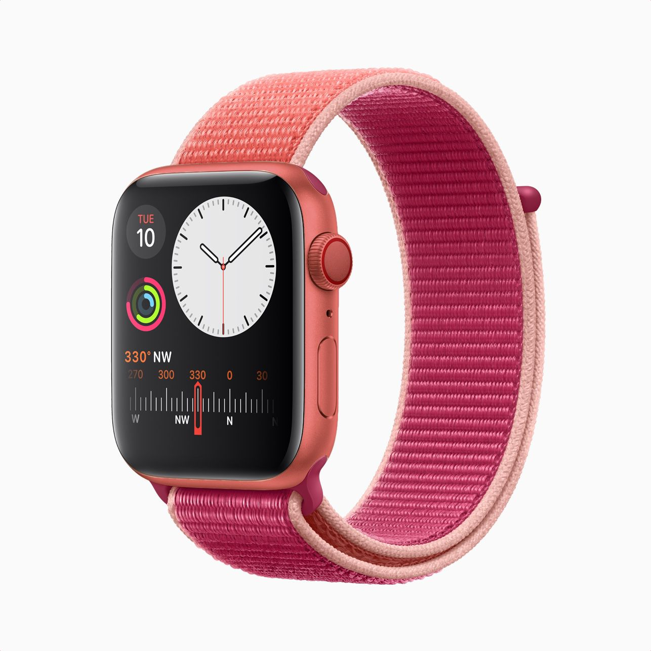 Apple Watch PRODUCT(RED) concept.