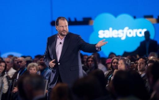 Marc Benioff van Salesforce
