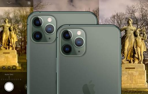 iPhone 11 Pro inzoomen met nachtmodus.