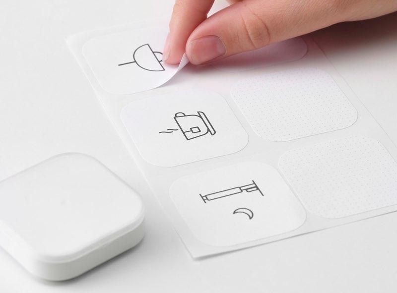IKEA Snelkoppelknop stickers