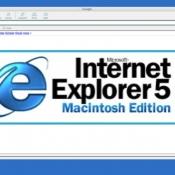 Internet Explorer 5 voor Mac