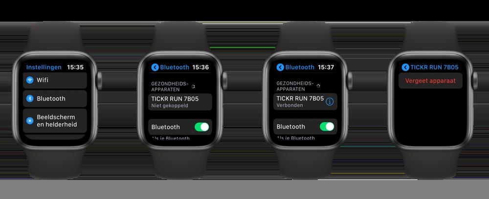 Hartslagmeter koppelen Apple Watch