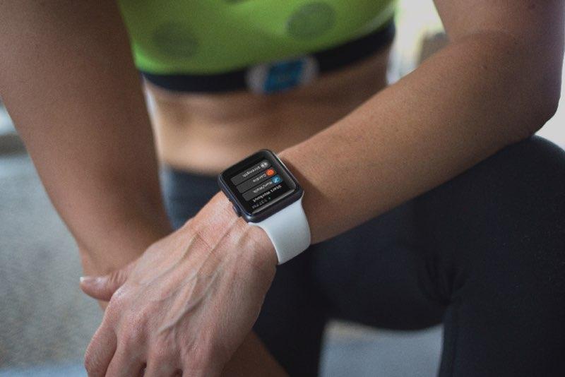 Apple Watch hartslagmeter