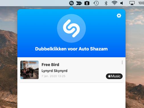 Shazam Mac gebruiken
