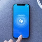 Shazam op de iPhone aan het luisteren.