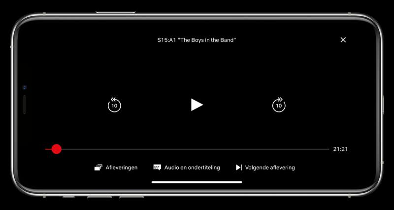 Audio en ondertiteling aanpassen Netflix