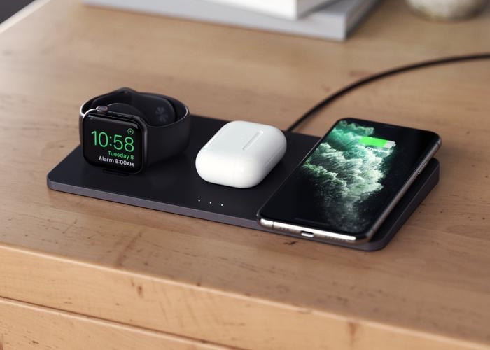 Satechi Trio wireless charger.