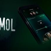 Wie is de Mol? app voor 2020 met logo.
