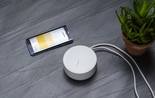 IKEA Tradfri gateway met Android toestel