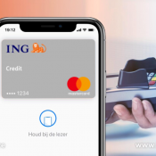 ING Creditcard in Apple Pay.